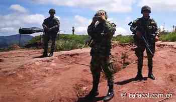Ejército protege familia amenazada en el municipio de Hacarí - Caracol Radio