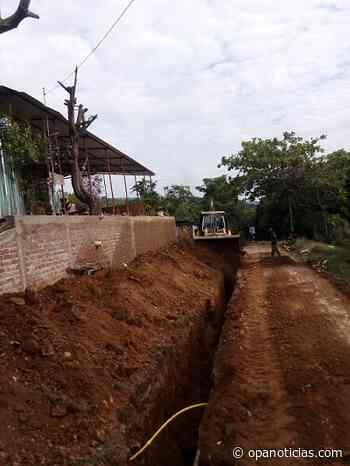 Avanzan proyectos de acueducto y alcantarillado en el municipio de Nátaga - Opanoticias