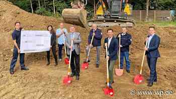 Netphen: Baustart für neue Rettungswache des Kreises in Deuz - Westfalenpost