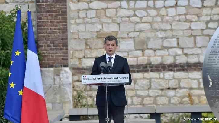 Gérald Darmanin chahuté à Saint-Etienne-du-Rouvray lors de l'hommage au prêtre Hamel - Midi Libre