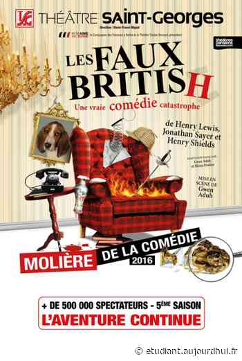 LES FAUX BRITISH - PALAIS DES RENCONTRES, Chateau Thierry, 02400 - Sortir à France - Le Parisien Etudiant