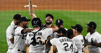 Lucas Giolito Throws a No-Hitter for the White Sox