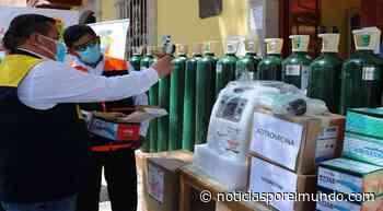 Moquegua: equipan con 20 balones de oxígeno centro de salud de Torata | LRSD | Sociedad - Noticias por el Mundo