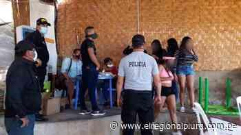 Sullana: intervienen a 15 parroquianos en bar 'Las Chiroquitas' de Marcavelica - El Regional