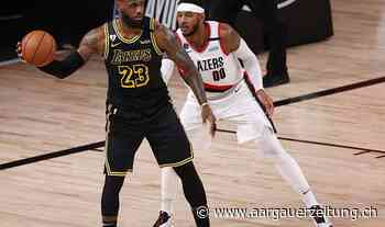 Los Angeles Lakers siegen souverän am «Kobe Bryant Day» - Aargauer Zeitung