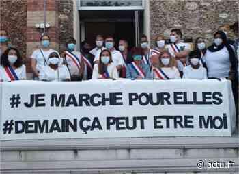 Féminicides. Marche blanche à Chevilly-Larue : plusieurs élus en appellent à Emmanuel Macron - actu.fr