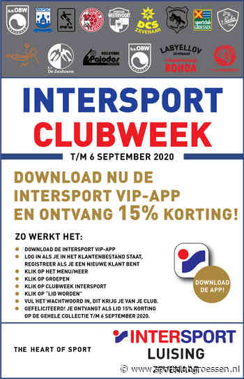 Download de Intersport-VIP app en krijg 15 % korting