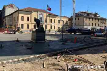San Giuliano Milanese: procedono i lavori che daranno un nuovo volto a piazza della Vittoria - 7giorni
