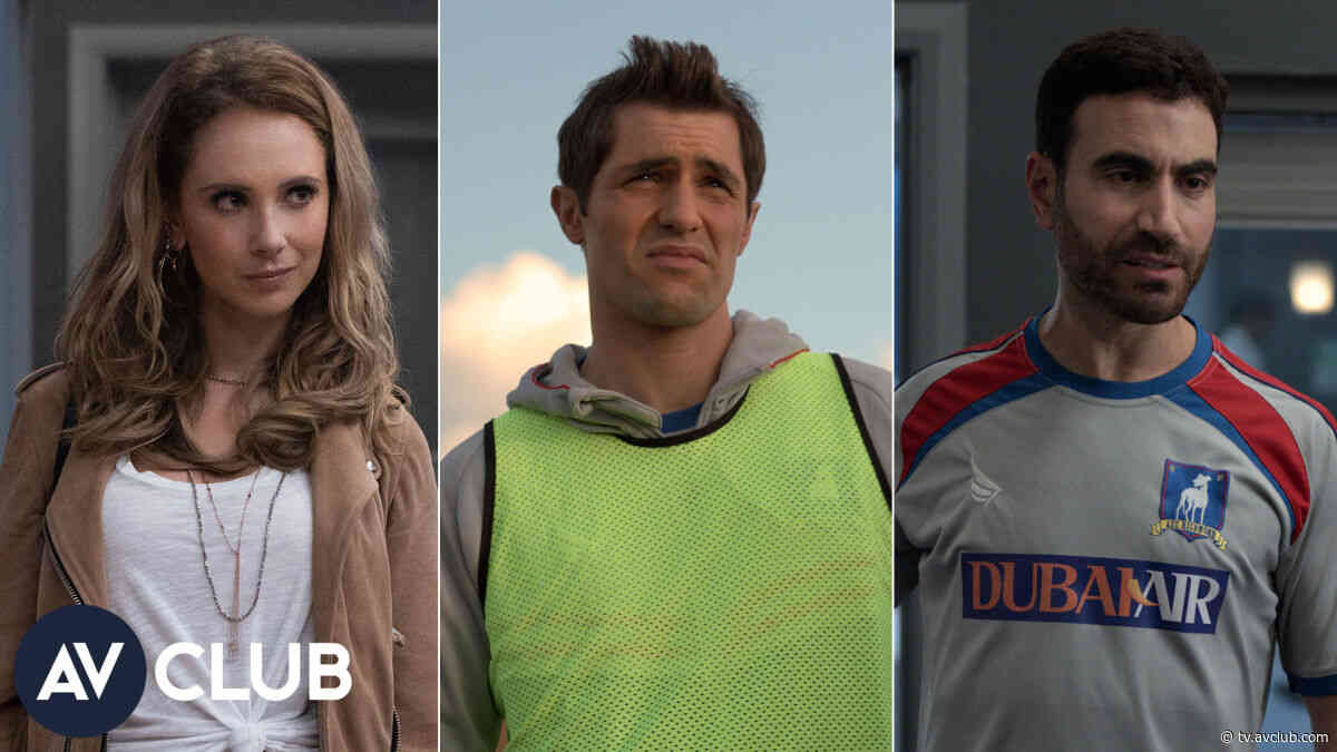 Juno Temple, Brett Goldstein, and Phil Dunster on Rebekah Vardy and Fever Pitch - The A.V. Club