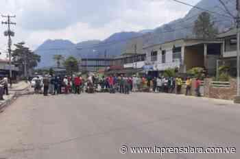 Monagas: Residentes de Caripe protestan por gasolina - La Prensa de Lara