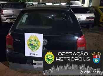 Três são detidos com carro furtado em Mangueirinha - CGN