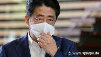 Japan spekuliert über Abe-Nachfolge: Der Premier, dem das Glück abhandenkam - DER SPIEGEL