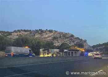 Carry-le-Rouet - Info route - Perturbations sur la D9 : un camion s'est renversé - Maritima.info