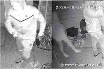 Brackendale Hastings armed burglary: CCTV of gun suspects - The Argus