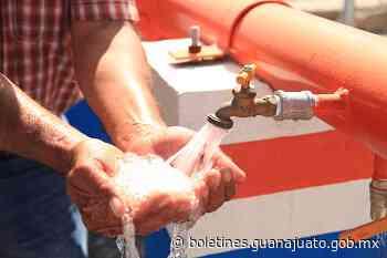 Trabaja CEAG en sistema integral de agua potable en Yuriria - Noticias Gobierno del Estado de Guanajuato