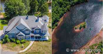 This Mont-Tremblant Mansion For Sale Has The Biggest Backyard Lake & It's All Yours - Narcity Canada