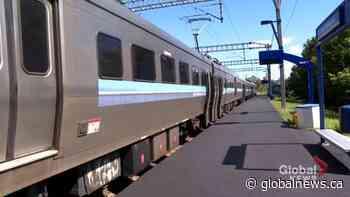 Fresh pavement at commuter train stations on Deux-Montagnes line draws criticism | Watch News Videos Online - Globalnews.ca