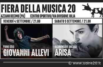 Giovanni Allevi e Arisa in concerto ad Azzano Decimo - Udine20 2020