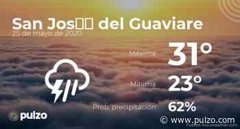 En San José del Guaviare, este es el comportamiento del clima, 25 de 05 de 2020 - Pulzo