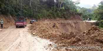 Por trabajos en nuevo trazo restringen tránsito en carretera Moyobamba – Jepelacio - diariovoces.com.pe