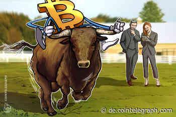 Führungskraft bei Kraken: 5 Gründe für Bullenlauf bei Bitcoin - Cointelegraph Deutschland