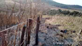 Desmonte y quema en Abaí - Nacionales - ABC Color