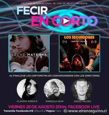 """Del 1 al 5 de diciembre: """"Festival Internacional de Cine Rengo 2020"""" anuncia fecha de realización. - El Rancagüino"""