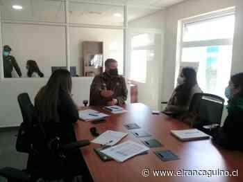 Reunión de coordinación entre Programa OPD y Carabineros de Rengo. - Diario El Rancagüino