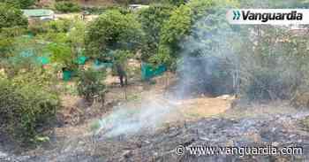 Un grave incendio fue controlado en la vereda Guapi de Girón - Vanguardia