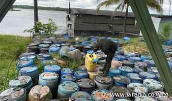 En Cauca incautan cerca de 1.000 galones de combustible ilegal procedente de Ecuador - W Radio