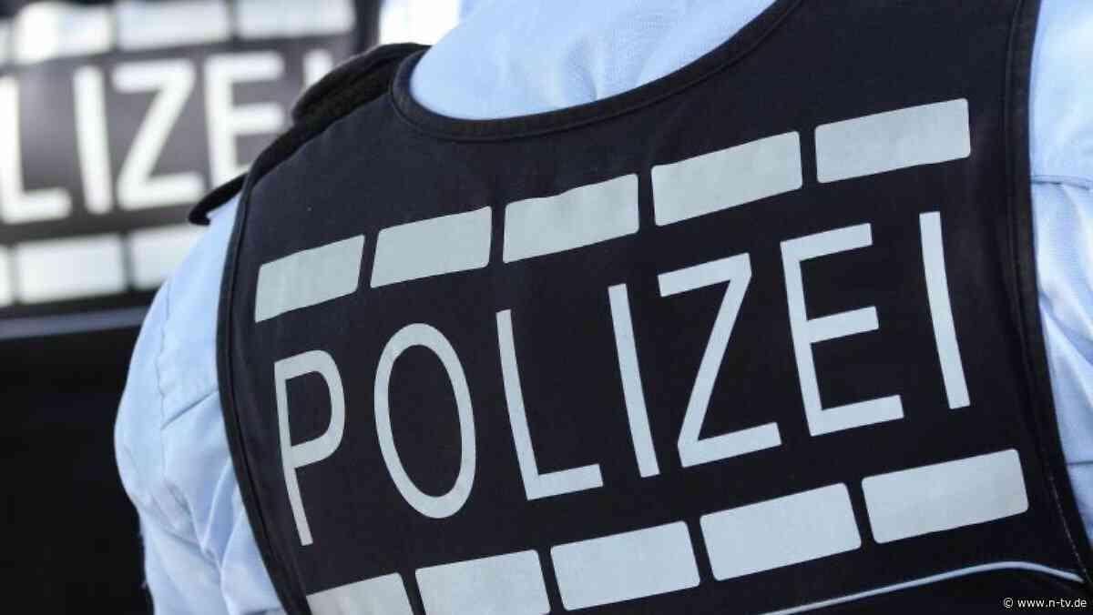 Sachsen: Polizei fasst mutmaßlichen Seriendieb in Freiberg - n-tv NACHRICHTEN