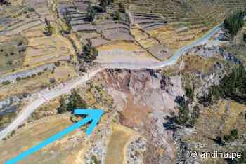 Ingemmet recomienda nuevo trazo de carretera Chivay-Cabanoconde - Agencia Andina