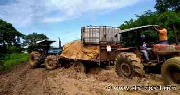 Productores agropecuarios denunciaron pésimo estado de vías rurales de Zaraza, en Guárico - El Nacional
