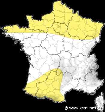 Tornade à Bresles (Oise) le 23 août 1832. Tornade EF2 dans les Hauts-de-France - Tornade F1 en France - keraunos.org