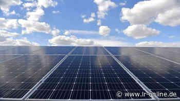 Solarpark bei Spremberg: Vattenfall plant riesige Anlage in Groß Buckow - Lausitzer Rundschau