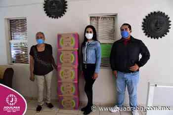 Donan despensas para personas necesitadas de Jiquilpan - Quadratín - Quadratín Michoacán