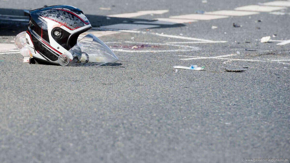 Tödlicher Unfall auf der B8 in Bad Camberg: 29-jähriger Motorradfahrer kommt ums Leben | Panorama - Gießener Allgemeine