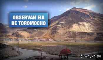 Frente de Morococha reclama exclusión de familias del área de influencia de minera Toromocho - Wayka
