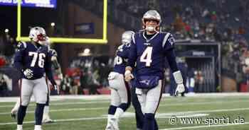NFL: Cam Newton bei New England Patriots gesetzt - Jarrett Stidham verletzt - SPORT1