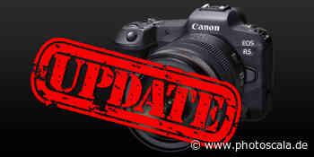 Canon EOS R5: Firmware-Update verbessert Temperatur-Management - photoscala