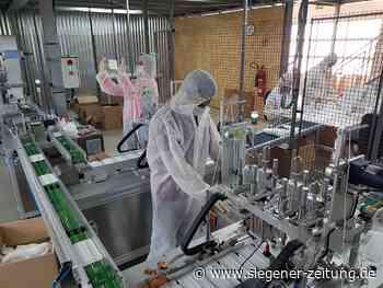 Die Großabnehmer fehlen: Masken made in Netphen - Netphen - Siegener Zeitung