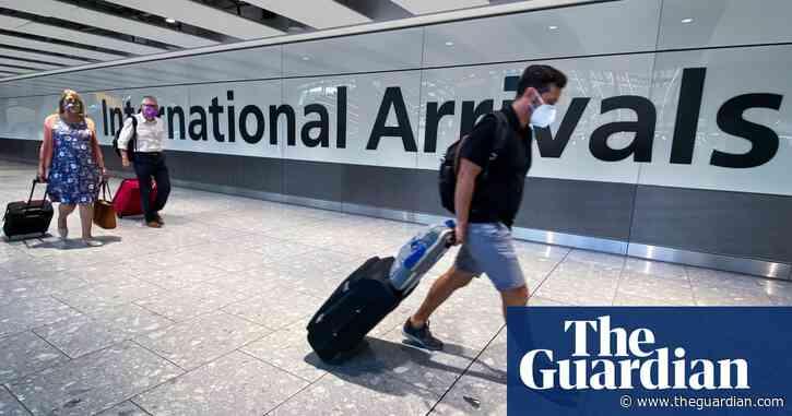 UK removes Switzerland, Jamaica and Czech Republic from travel corridor list