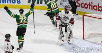 Jason Willms wins it in overtime as the London Knights defeat Guelph - Globalnews.ca