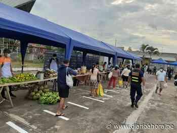 Instalan mercados itinerantes distritos Chazuta y Sta.Rosa - DIARIO AHORA