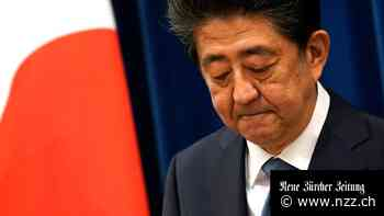 Japans Ministerpräsident Shinzo Abe vor Rücktritt - Neue Zürcher Zeitung