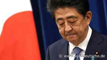 Japan: Premier Shinzo Abe will zurücktreten - Politik - SZ.de - Süddeutsche Zeitung