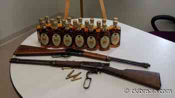 Fort Providence seize guns and alcohol; no charges laid - CKLB News
