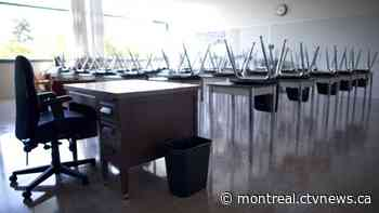 Twenty Deux-Montagnes High School teachers are in quarantine following positive COVID-19 tests - CTV News Montreal