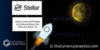 Stellar Lumens (XLM) Ready to Fly Beyond Being in the Mover and Shaker List - The Cryptocurrency Analytics