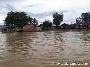 Cuatro corregimientos están inundados por el desbordamiento de dos ríos en Vigía del Fuerte, Antioquia - Alerta Paisa